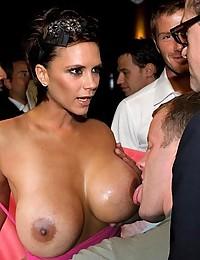 Various Celebrities Posing Nude